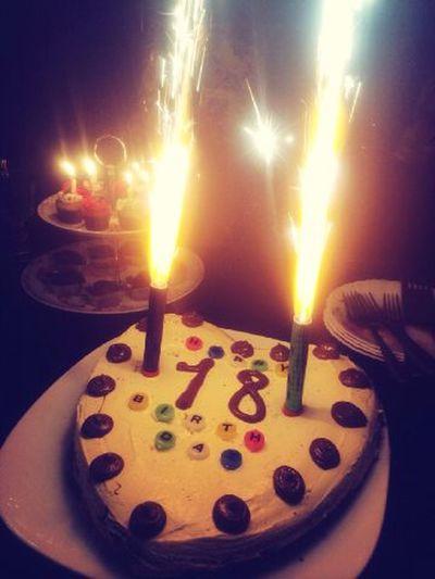 my birthdaythank you my family
