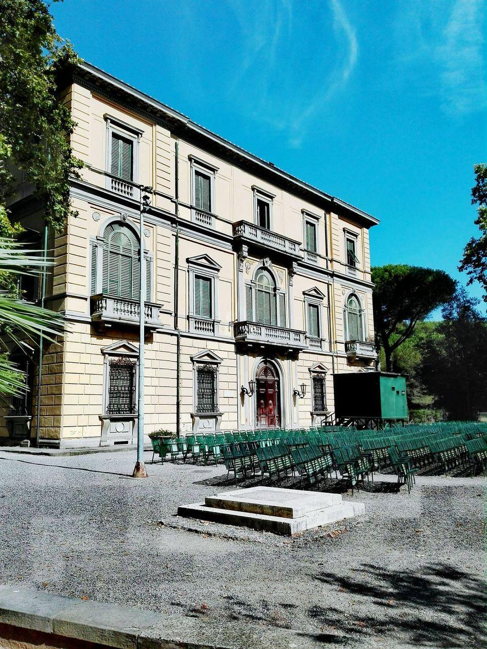 Villa fabbricotti Livorno italy