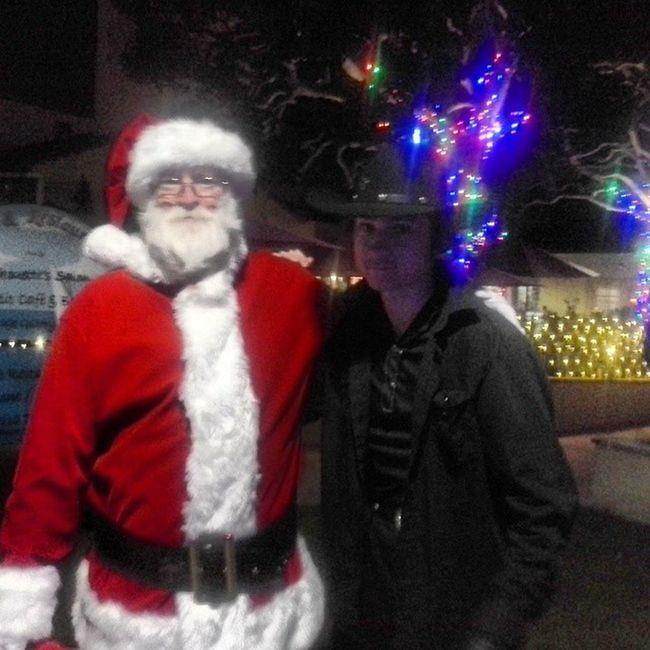 Santaandcowboy Santa Igaa_nice Santaandson