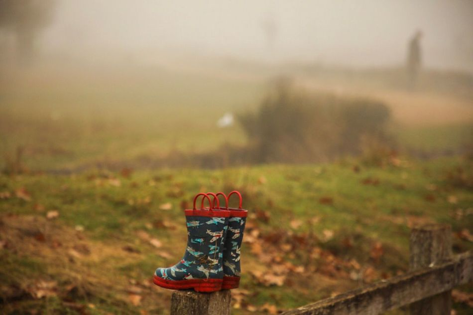 The forgotten boots No People Outdoors Field Nature Landscape Day Close-up Fresh On Market 2016