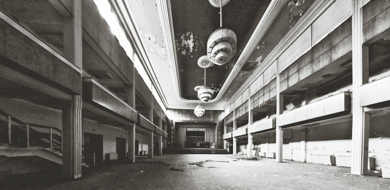 The old ball room.