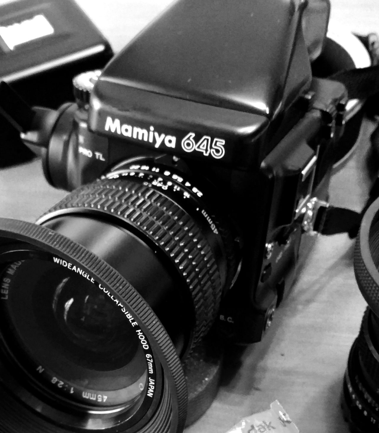 Mamiya645PRO Old-fashioned Close-up monochromatic Monochrome Photography Blackandwhite Photography Ishootfilm Istillshootfilm Anologphoto medium format Camera - Photographic Equipment Black Color Arts Culture And Entertainment Indoors  Technology No People Day Mami