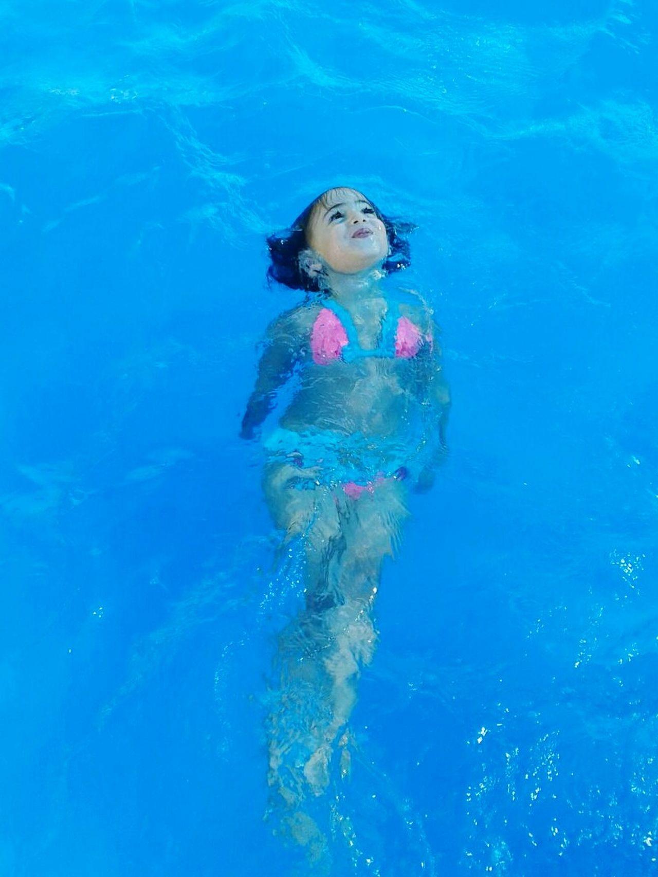 Beautiful stock photos of pools, Bikini, Blue, Caucasian Ethnicity, Childhood