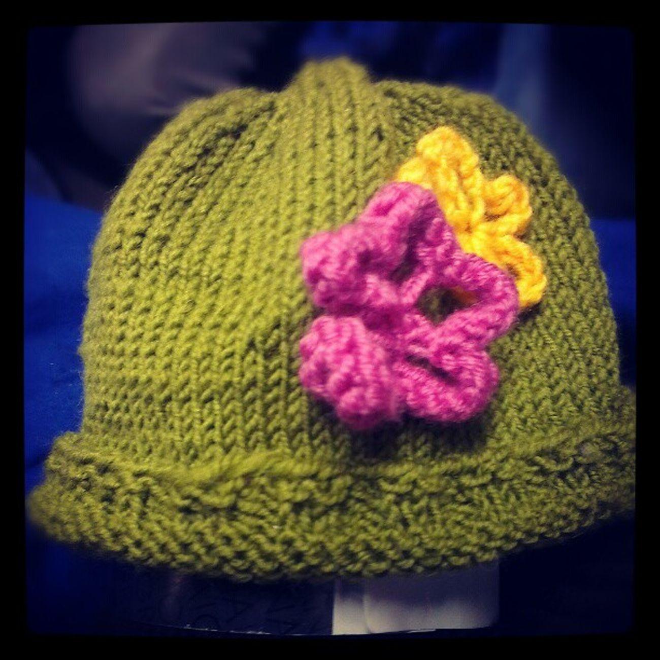 Hoffe die Mütze passt meiner Nichte auch ;-.) Onkellutz Maleknitting