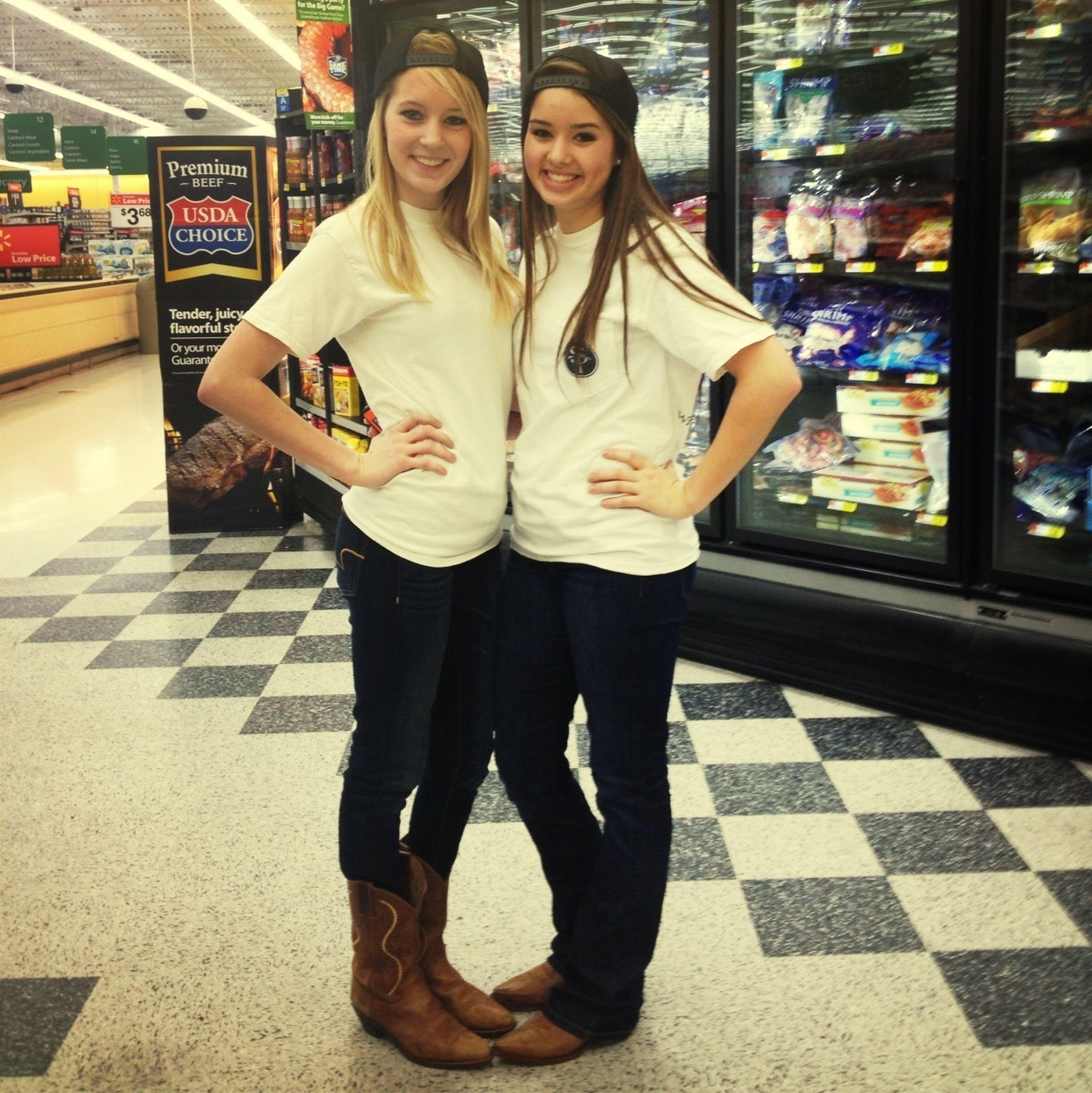 Awkward Walmart Pictures With My Bestfriend:)