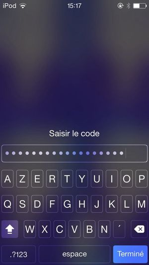 Ah ah ah,personne ne devinera mon code