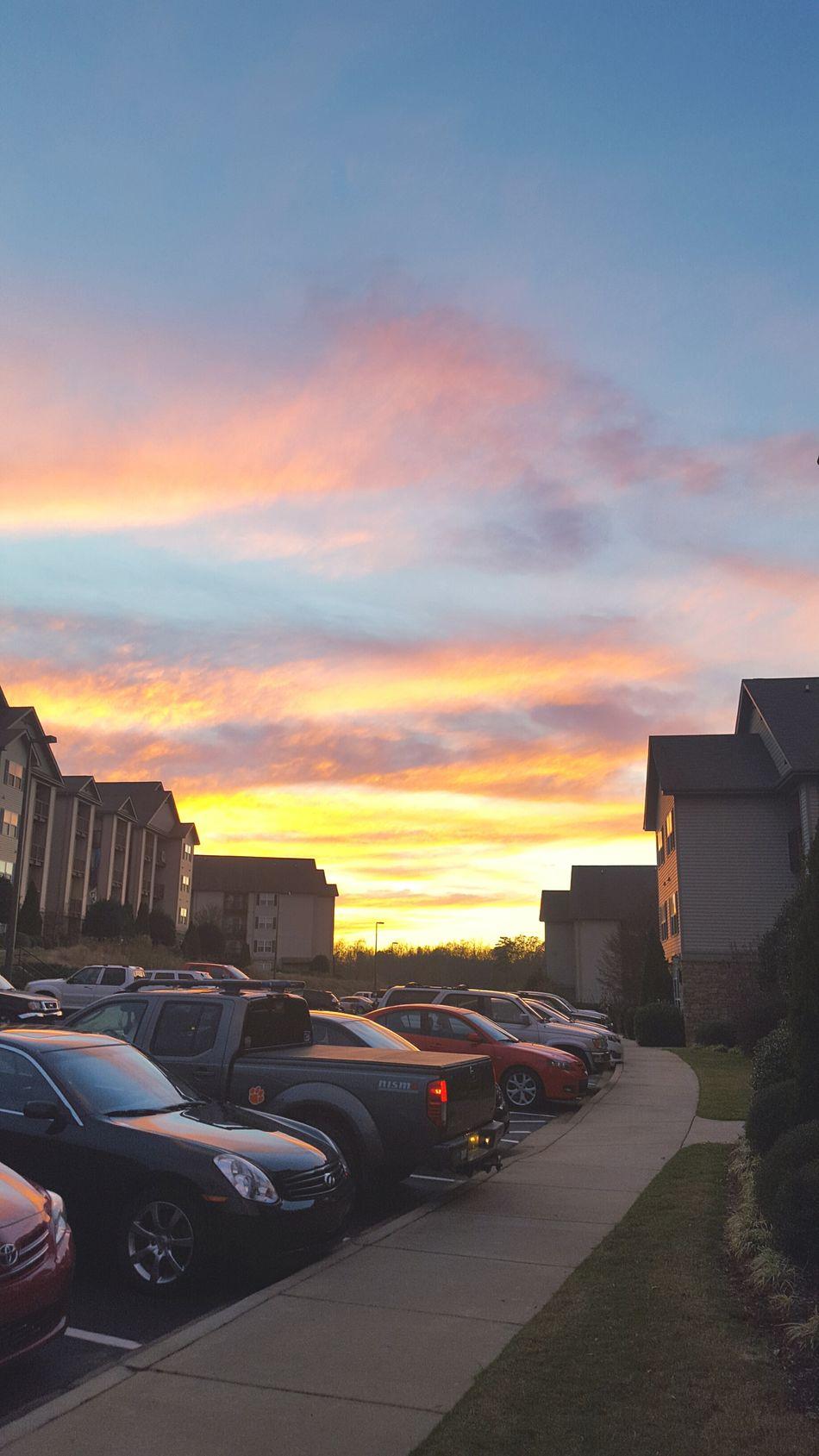 Showcase: December Community Finals Week College Life Sunset