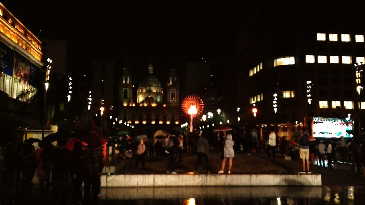 Cauldron Olympic City Rio De Janeiro