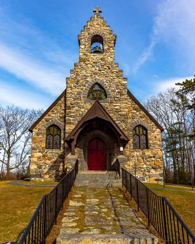 St Peters by the Sea Church No People Building Exterior Churches Collection Sky Day Architecture Religion Built Structure Stonechurch New England  Stone Church By The Sea EyeEmNewHere