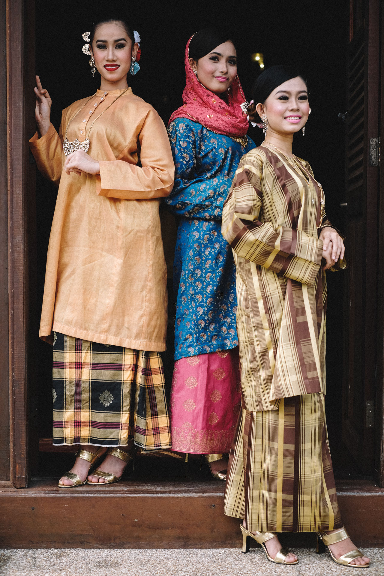 Adult Adults Only Day Fujifilm FUJIFILM X-T10 Fujifilm_xseries Malaysia Mature Adult Only Women Outdoors People Period Costume Royal Person Stage Costume Togetherness Traditional Traditional Clothing Traditional Costumes Women