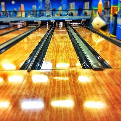 bowling at Центр дизайна ARTPLAY на Яузе by penguinCody