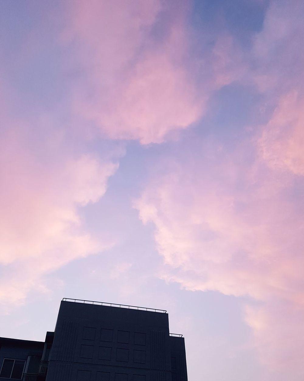 봄하늘♡ Sky City Skyline Sunset Sun Beautiful City Life Spring Springtime Daily Life 좋아요 이쁨 맑은날 분위기깡패 아름다움