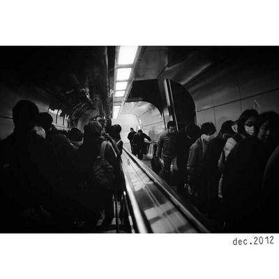 "Part pf Tokyo ""X"" | New Scans of Neopan400 Blackandwhite film cooked in Fujifilm Superprodol | Leica M7 28mm ElmaritM preasph | bw bnw monochrome street streetphotography humancondition subway | Ginza Japan"