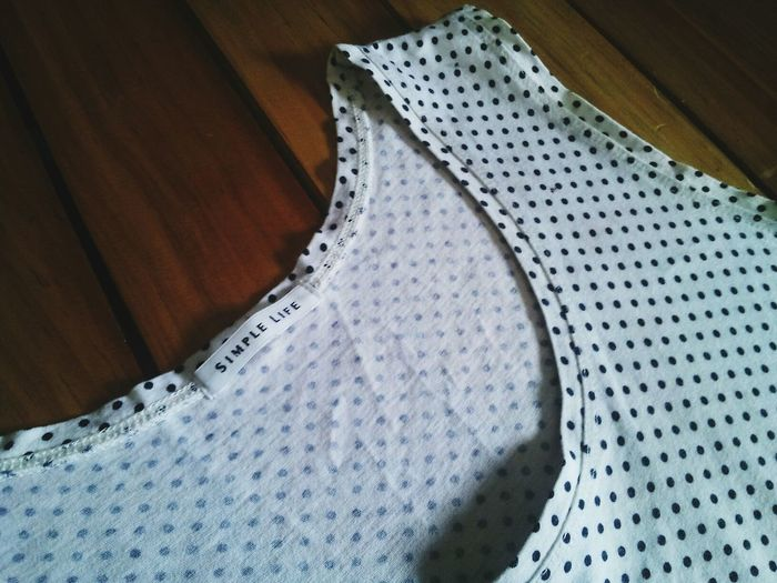 Simple Life Fabric Polka Dots  Black & White