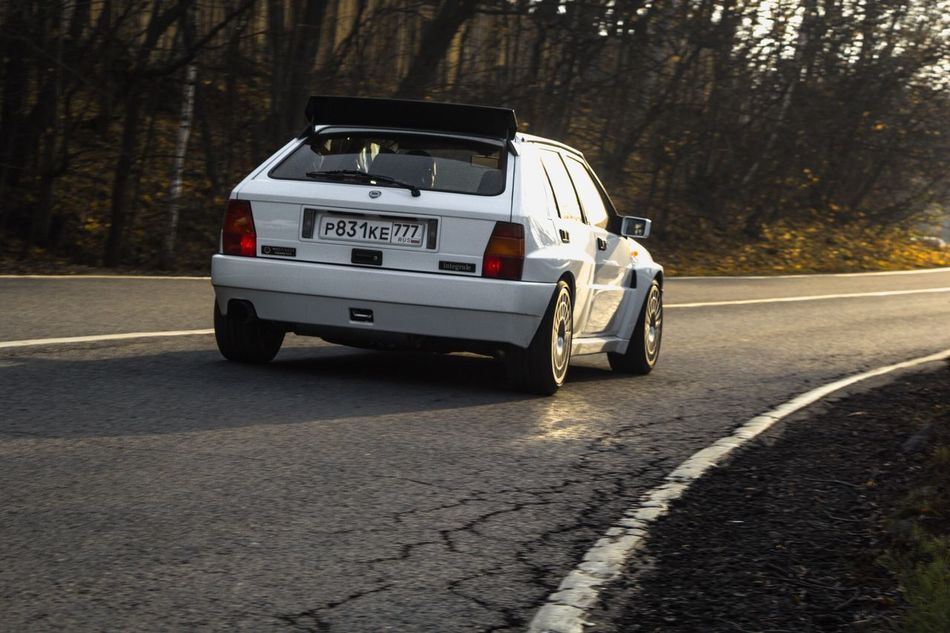 Lancia Lancia Delta Rally Car Auto Automobile Road Traveling Travel Light Sun Race Racecar Mountains Nature Touge Day Beautiful Day Travel Photography Streetphotography Learn & Shoot: Simplicity