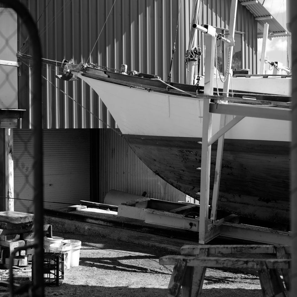 Abandoned Absence Architecture Australia Boat Building Boatyard Broken Built Structure Damaged Day Deterioration Indoors  Messy Obsolete Old Plank Redland Bay Ruined Shipyard Wood Wood - Material Wooden Working