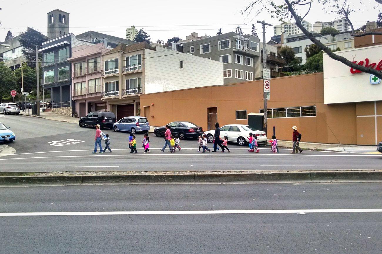 Ducklings Streetphotography Streets Of San Francisco Kids Urban Landscape