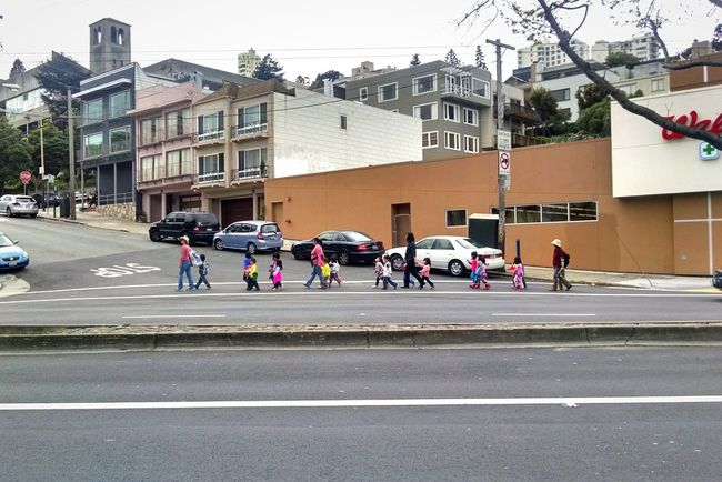 Ducklings Streetphotography Streets Of San Francisco Kids Urban Landscape
