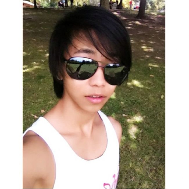 At the park in Cali. Turtle_troy Asian  Asianguy Asianhair Asianlife Asiancutie Asianstyle Hmong Hmoob KAWAII LOL AHA Follow Umm