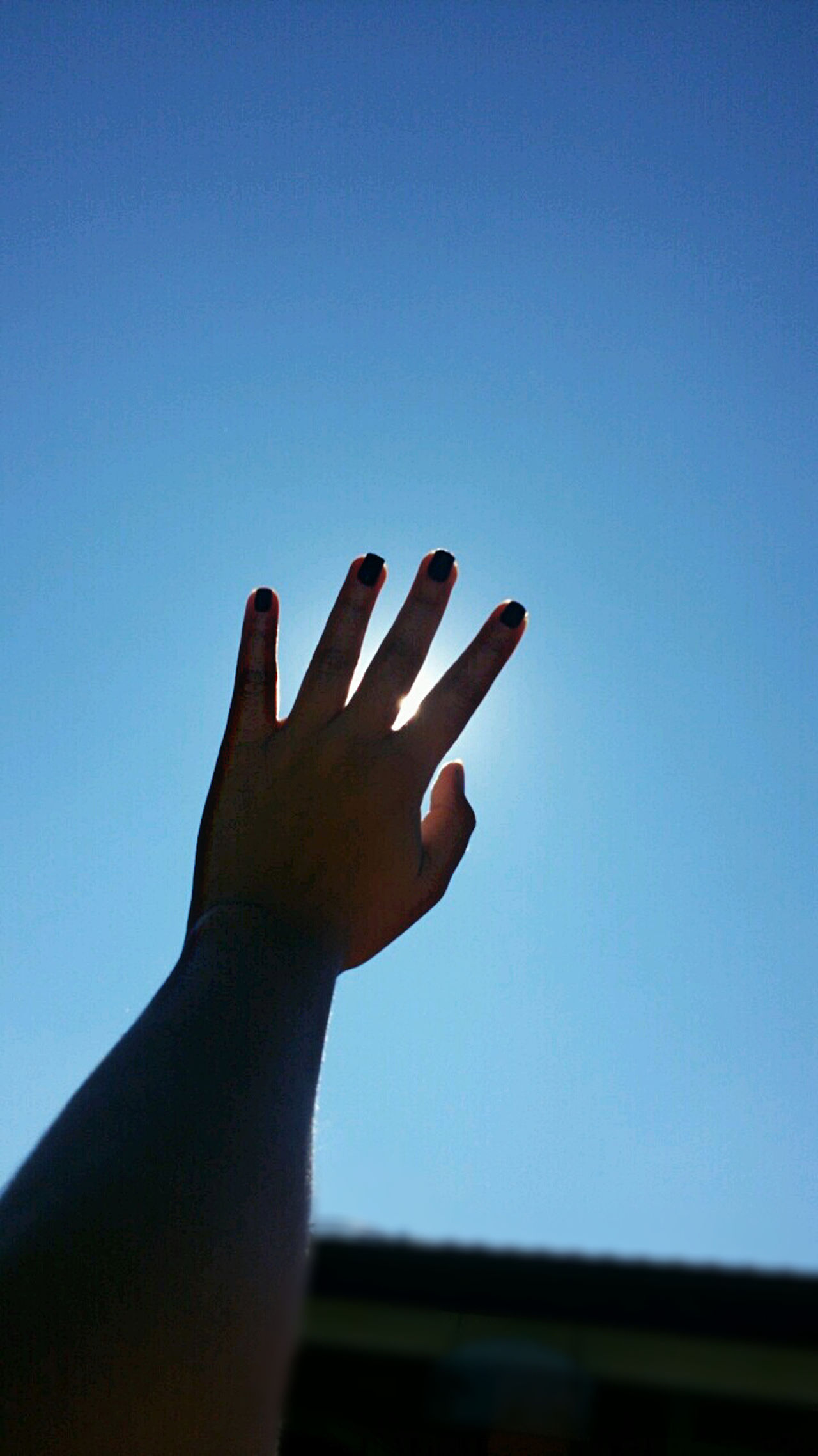 Fingers Nature Sky Blue One Person Live, Love, Laugh Brazil Break The Mold