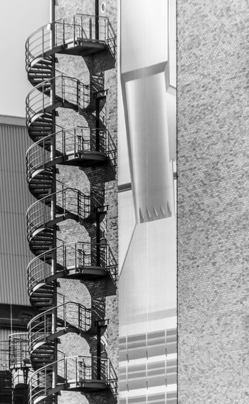 Architecture Außentreppe B&w Best Of Stairways Black And White Building Exterior Cooling Rack Day Industry No People Outdoors Spiral Spiral Staircase Stairs Stairway Treppe Vertical Urban Exploration