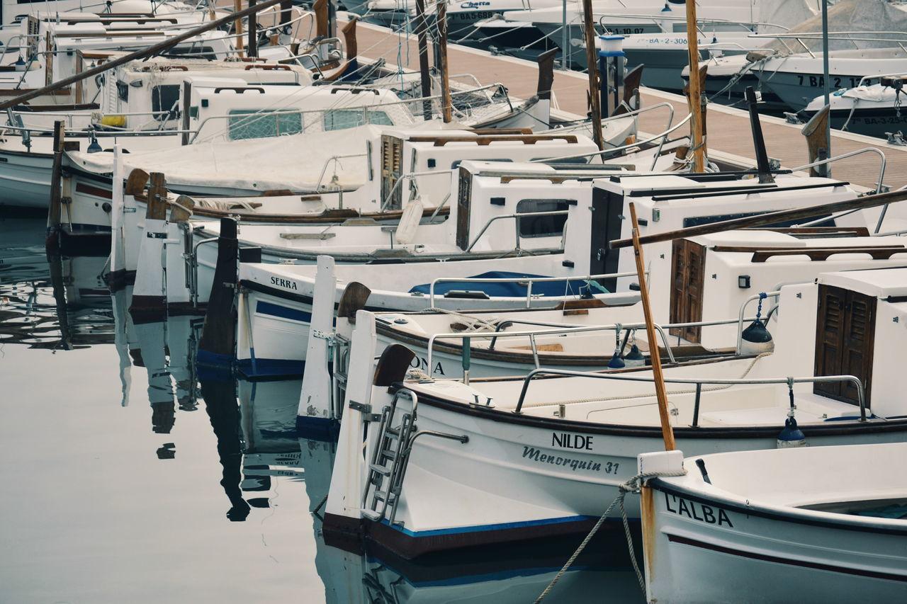 Water No People Outdoors Barques Ships Sea Barquesdepescadors Blanes BlanesTurisme Portdeblanes Harbour Mediterranean  Mediterranean Sea Mediterrani Costabrava Estiu Undelsmeusllocspreferits EyeEmNewHere Portpesquer