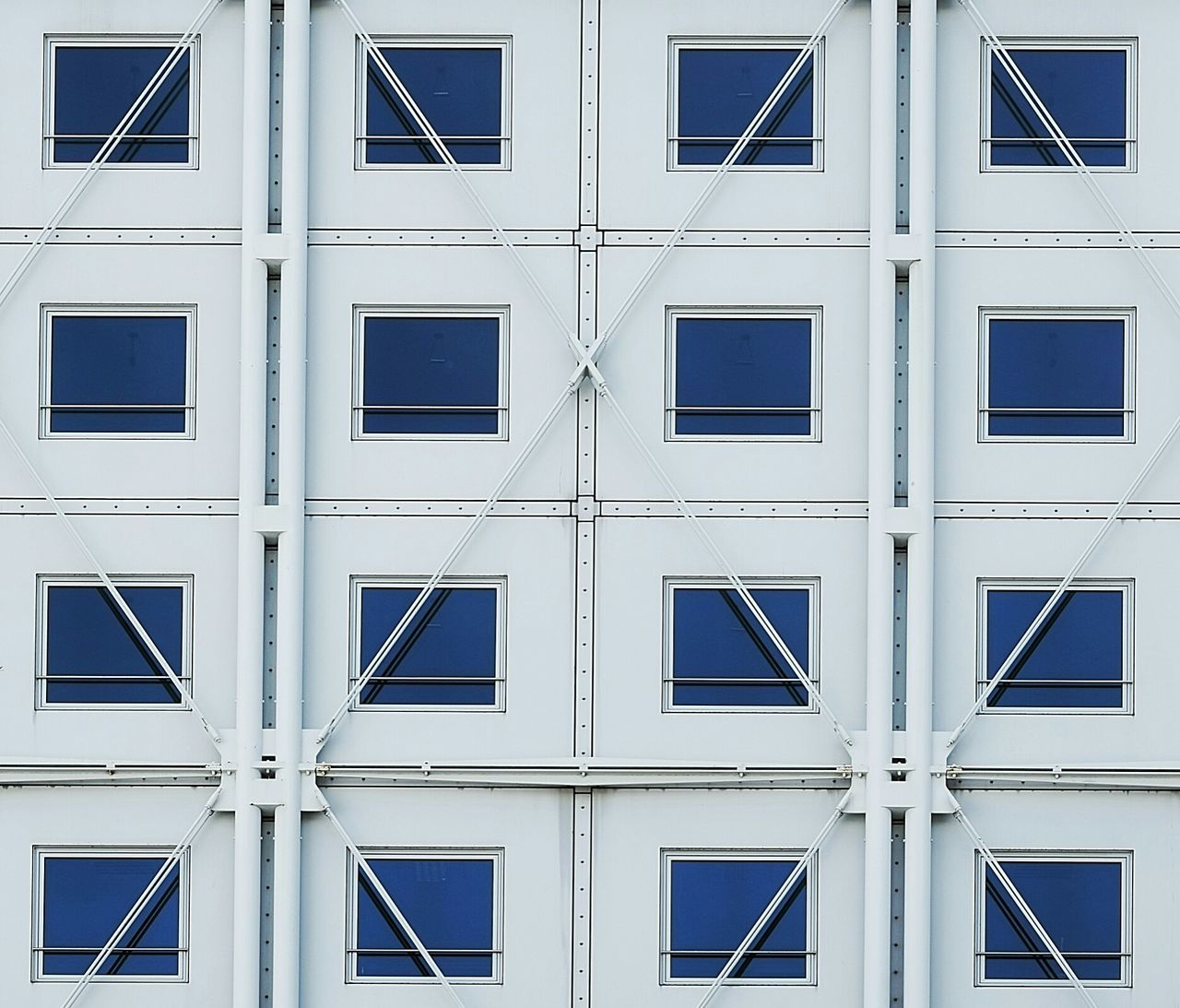Whitebluefacade Deceptively Simple Architecture Minimalism Simplicity Urban Geometry Urbanphotography Cityexplorer Geometric Shapes From My Point Of View Façade