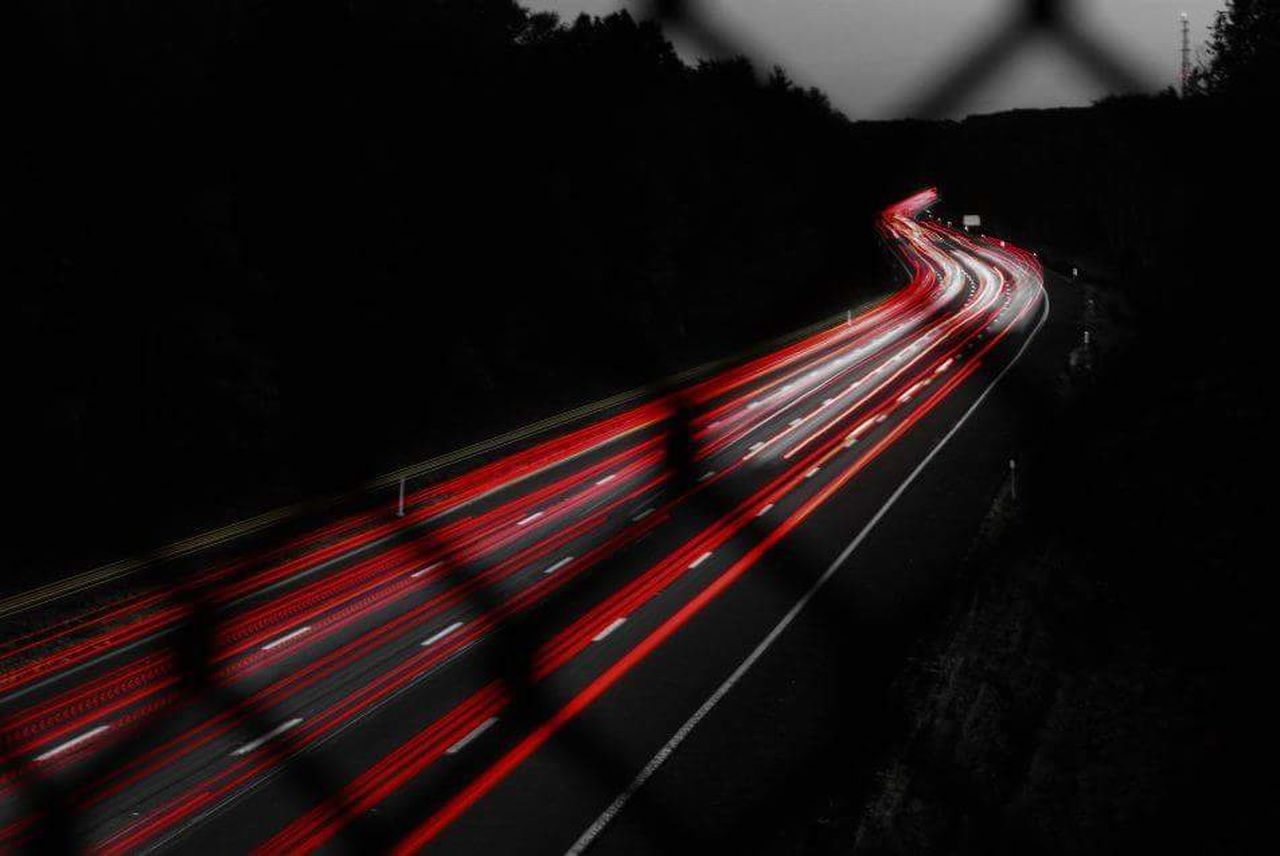 Timelapse Long Exposure Light Trails Need For Speed Need For Speed World Traffic Breaklights Background Long Exposure Night Photography Color Palette