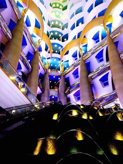 Burj Al Arab, Dubai, UAE - route towards the sky view bar Architecture Burj Al Arab