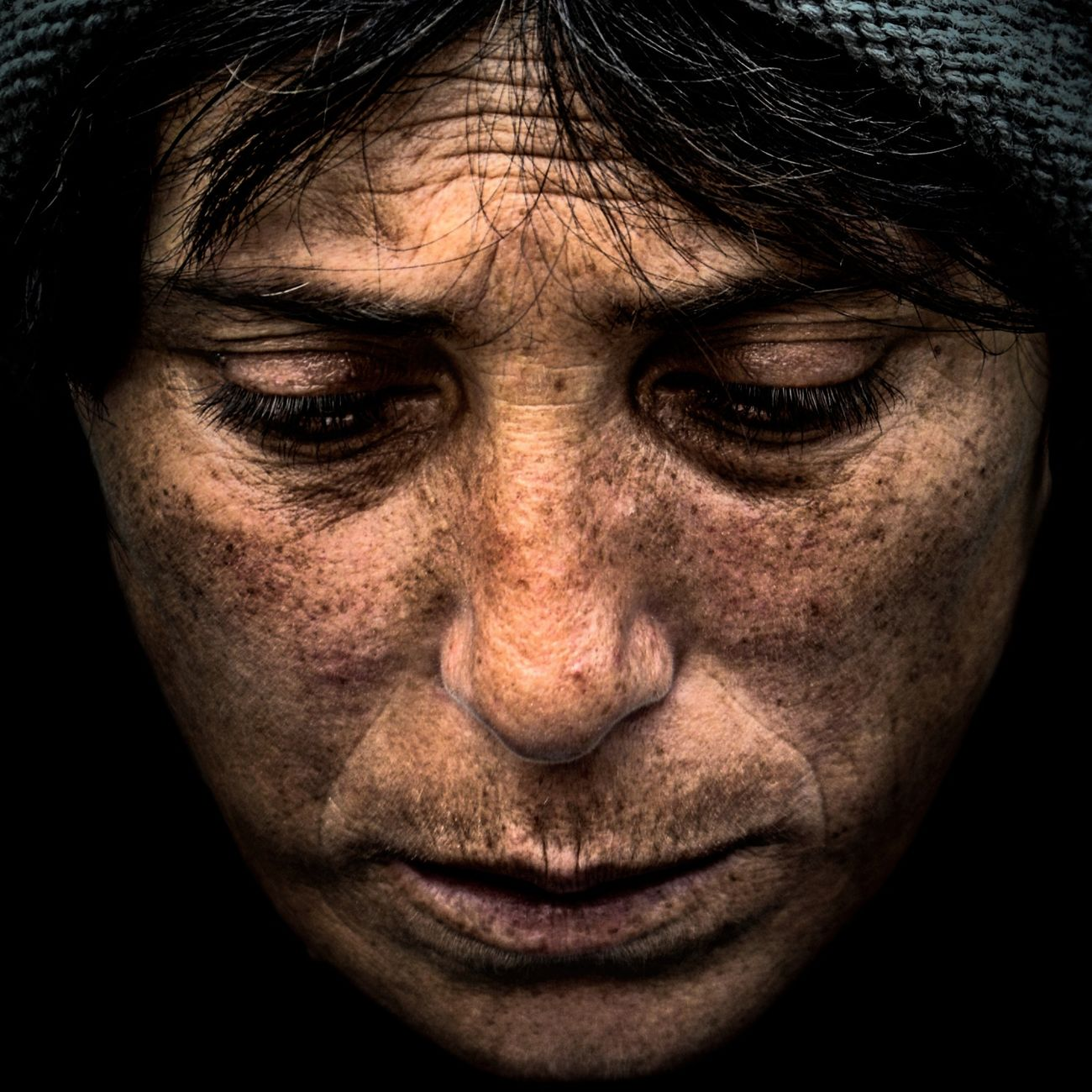 Anonymous portrait... Portrait Human Face Adults Only One Person Streetphotography Adult Person Wrinkled Human Eye Facial Expression Exhibition Pieces Human Skin Mature Adult Exhibition Exhibit Art Photographic Photograph Photographer Gallery Visitor Watchers Watch See Look Looking Private Public Blurred Blur Out Of Focus Photography Documentary Reportage Street Exhibition Center Human Representation RePicture Ageing Contemplation EyeEm Best Shots Street Portrait The Human Condition Beauty Touching Real People Human Body Part