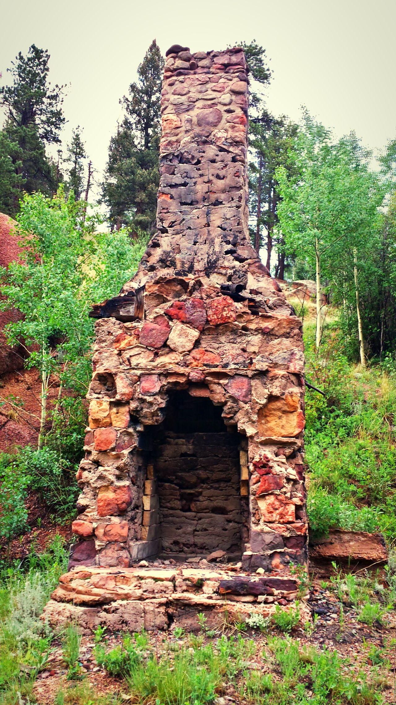 Wabi-sabi Abandoned Fireplace Hidden Gems
