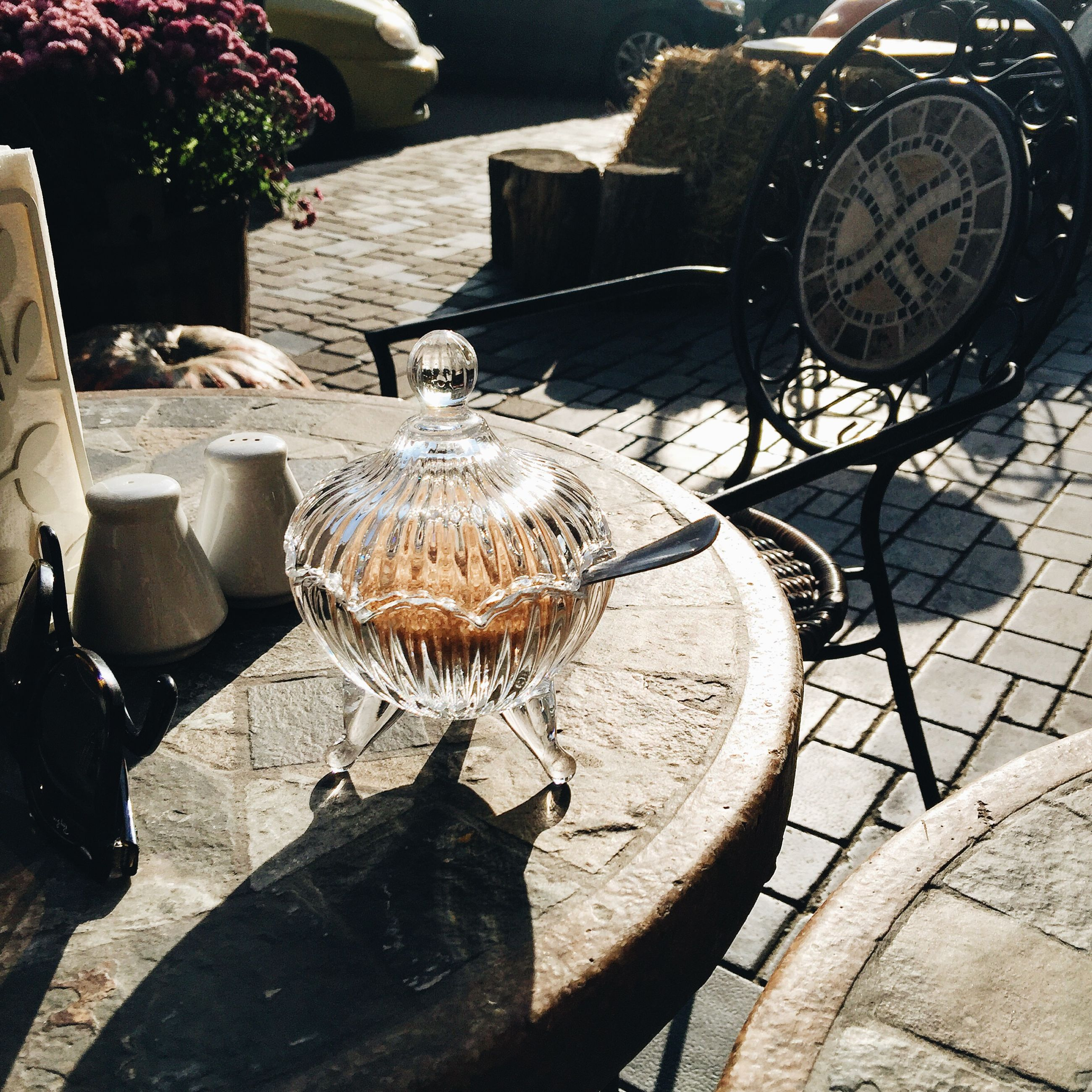 wineglass, shadow, no people, chair, indoors, day