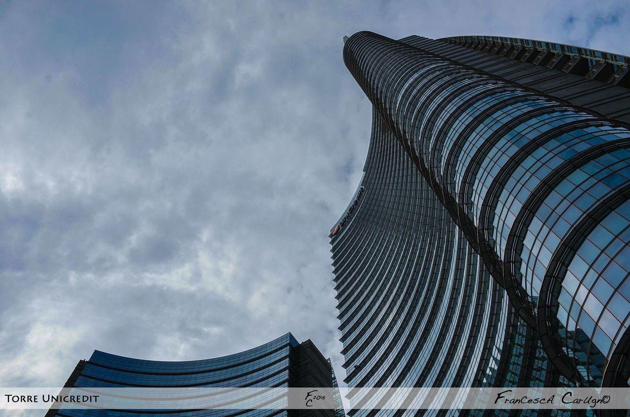 Architecture Prospective Skyscraper Buildings Geometric Art Composition Architettura Architecture Details Tower