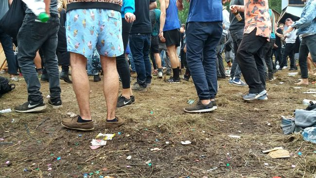 Music Music Festival Dancing Dance Photography Mud Muddy Trash Dirty Hay Legs Shoes Barefoot Shorts People Dancing