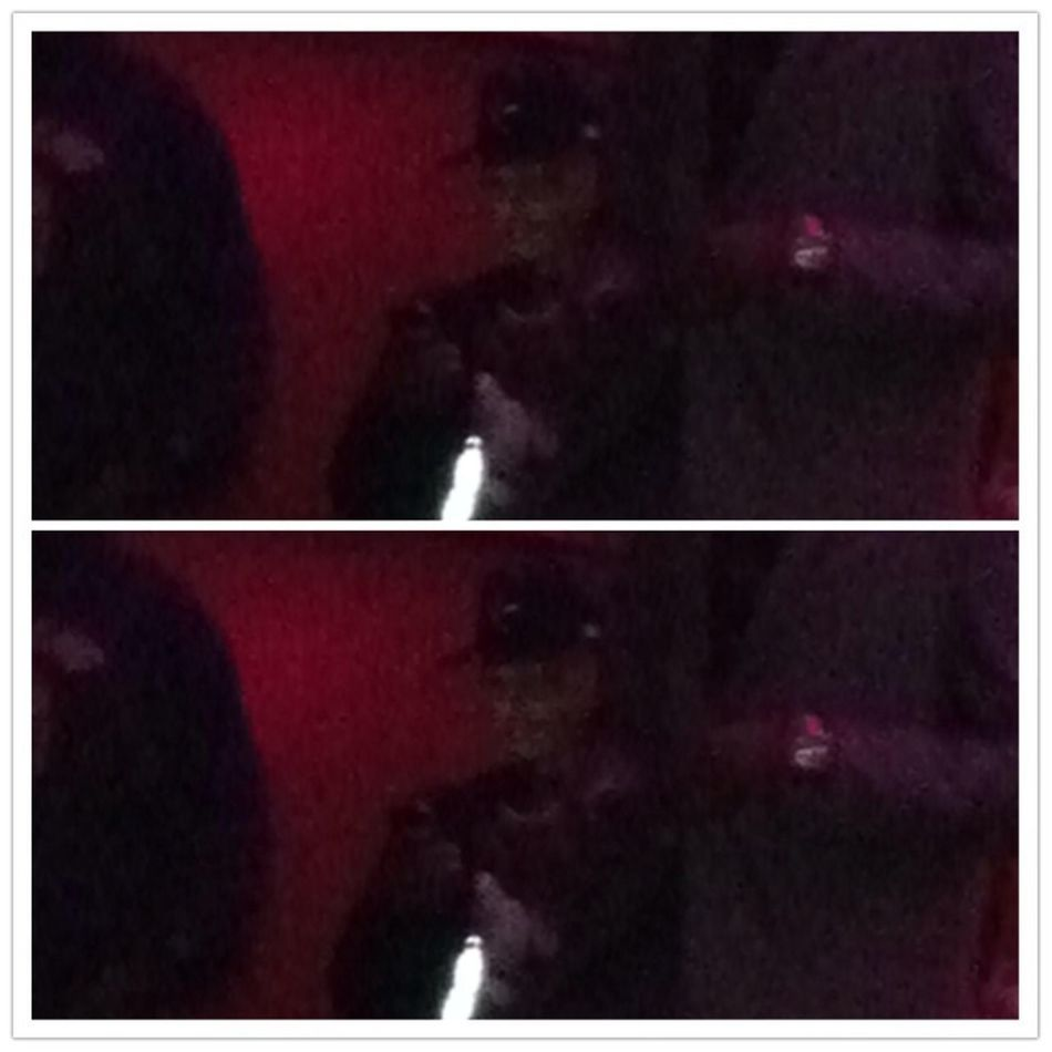 I Hate You Can't See T.I Not a good pic I had to zoom in & it was kinda of dark but #CIAA #LastNight