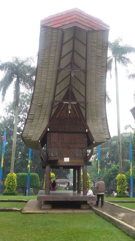 Architecture Built Structure City Day Outdoors Taman Mini Indonesia Indah Toraja Indonesia Tradisional House