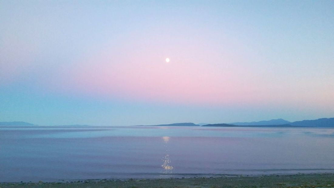 edited with the app Water Tranquil Scene Scenics Tranquility Beauty In Nature Sun Beach Reflection Idyllic Sunset Majestic Lake Sea Nature Seascape Lakeshore Moon Vacations Non-urban Scene Travel Destinations Eye4photography  EyeEm Gallery EyeEm Best Shots Moon