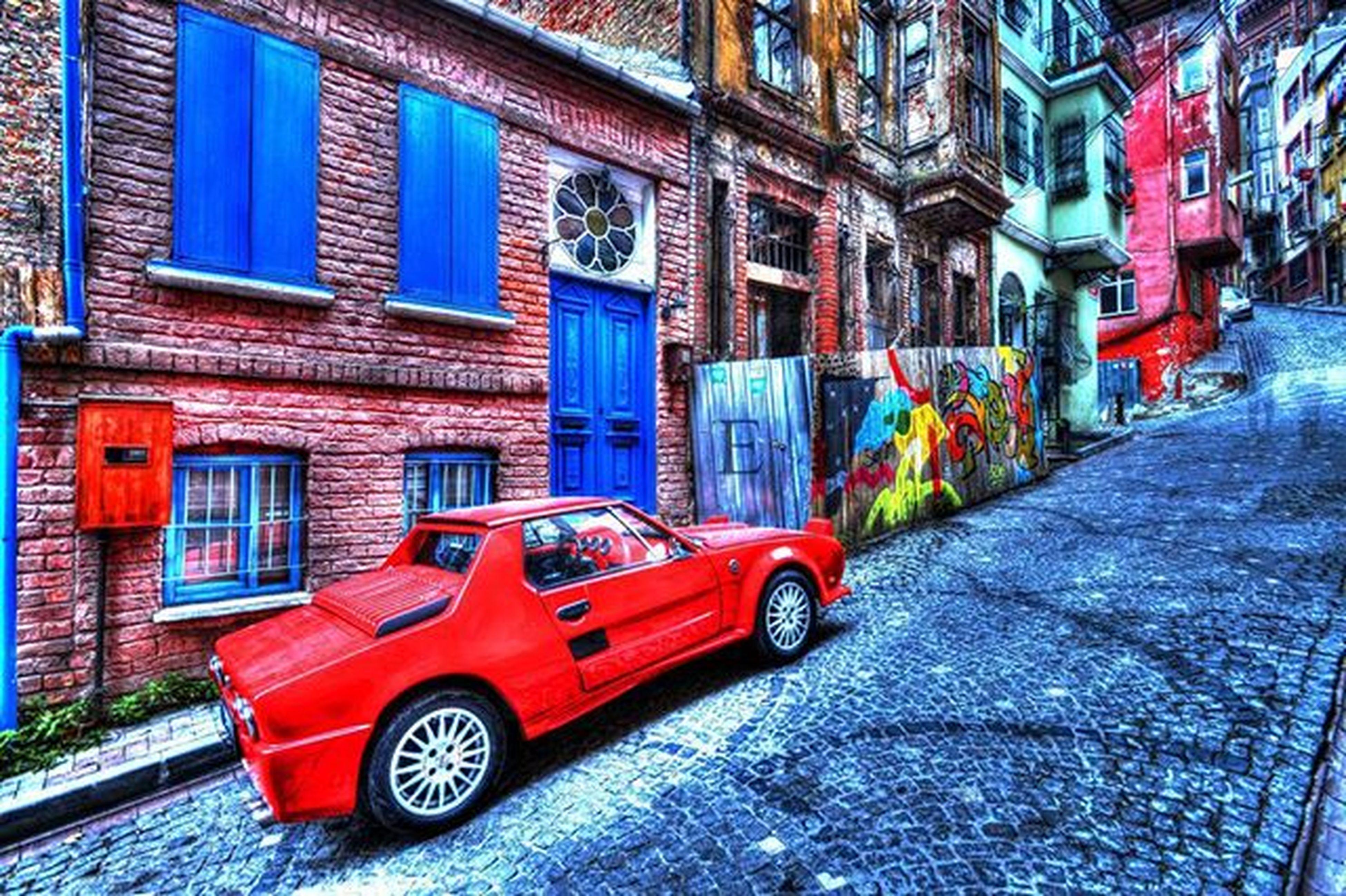 Fener Balat Fiat Classic Pininfarina Car HDR HighDynamicRange Special 12poses Nofilter Photomatix Colors Nikon DSLR Camera Photography Emrahnihaterel