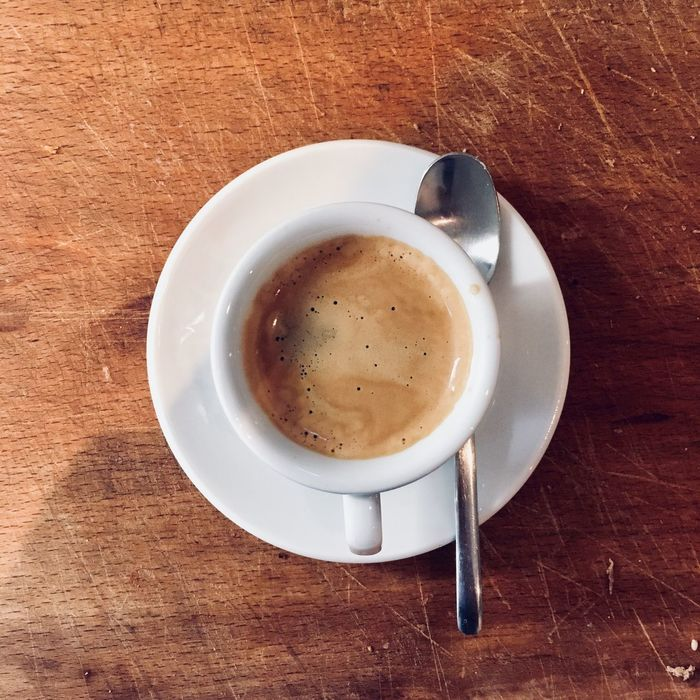 Table Coffee Cup Food And Drink Coffee - Drink Drink Refreshment Still Life Freshness High Angle View Indoors  Directly Above Saucer Frothy Drink No People Serving Size Food Close-up Cappuccino Healthy Eating Froth Art