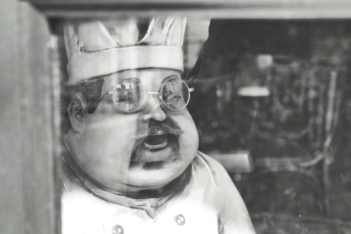 Figure Glasses Cook  Looking Out The Window Blackandwhite Photography Black And White Black & White Blackandwhite Monochrome