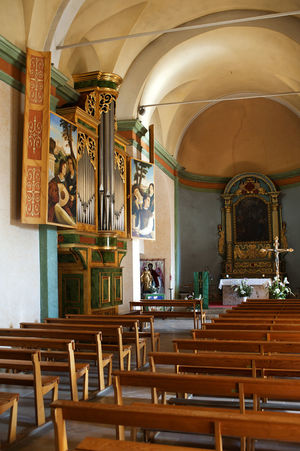 Architecture Art Art And Craft Church Creativity Design Human Representation In A Row Indoors  Mougins Mystic Ornate Pipe Organ Place Of Worship Religion Religious Architecture Saint-Jacques Saint-Jacques Le Majeur Spirituality Statue
