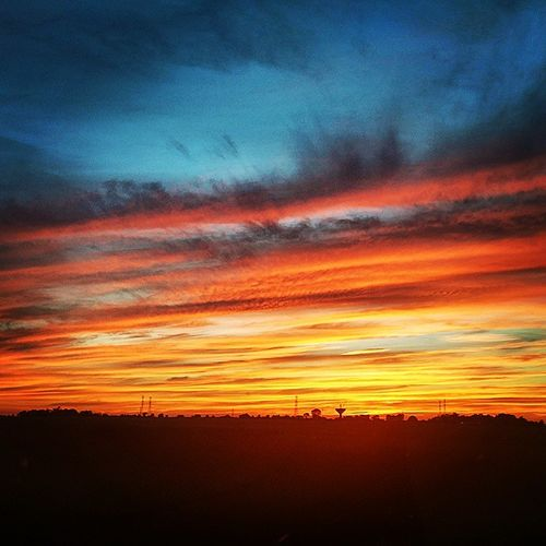 Tonight's Sunset. Never, ever to be repeated! Jehovahscreation Jehovah Jehovahtheartist Bestlifever