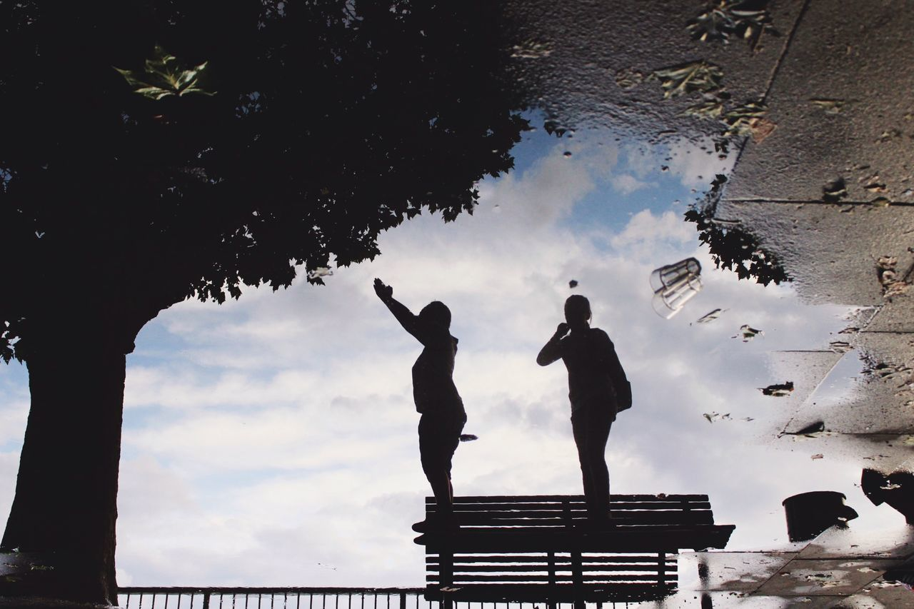 TheWeekOnEyeEM London Lifestyle Puddleography Puddle Reflections Reflection Silhouette Puddle My Year My View Live For The Story EyeEm LOST IN London