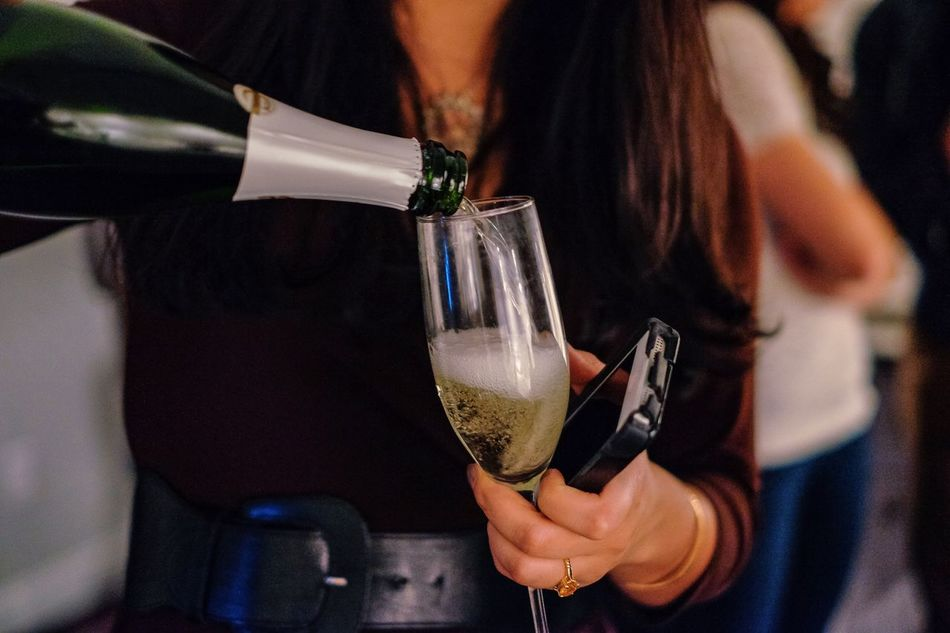 Beautiful stock photos of wein, Champagne, Champagne Flute, Communication, Drink