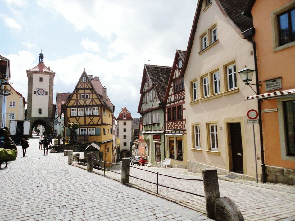 Rothenburg; a lovely medeival town in Germany, at an area called Romantic Road :) Building Exterior Architecture Travel Destinations Outdoors No People Rothenberg Rothenburg Germany Germany🇩🇪 Germany 🇩🇪 Deutschland Germany Photos Miles Away
