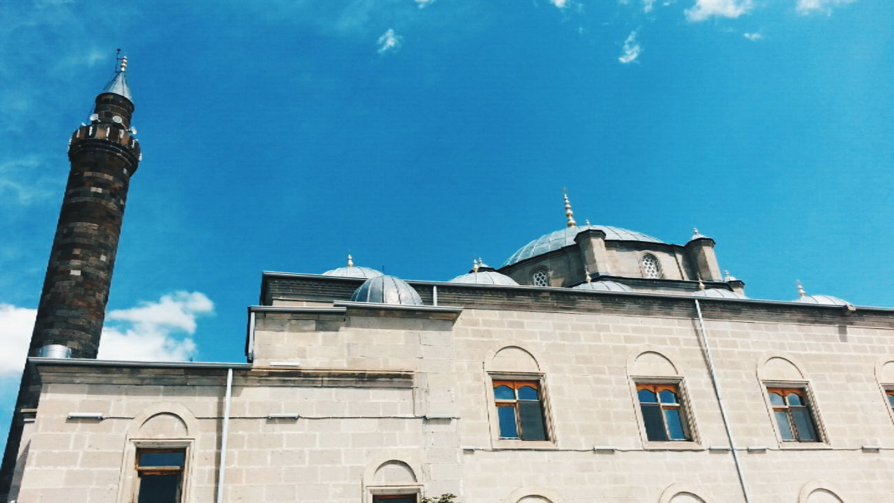 Mosque Mosque Turkey Mosques Of The World Blue Sky Sky Travel City Travel Destinations
