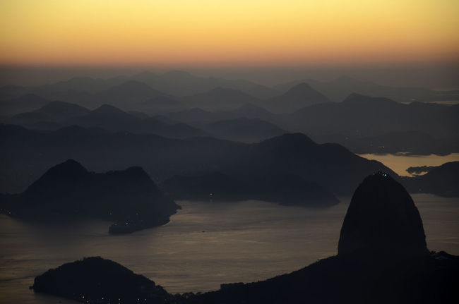 Alexandre Macieira Bay Brasil Brazil Corcovado Landscape Majestic Mountain Mountain Range Nature Niterói Orange Color Rio Rio De Janeiro Scenics Sugarloaf Sunrise Tranquility