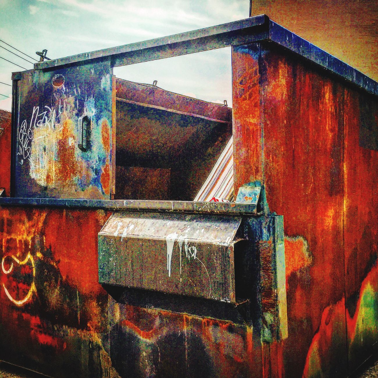 Dumpsterdiving Rust IPhoneography Eye4photography  EyeEm Best Shots EyeEm Gallery Popular Photos Pattern, Texture, Shape And Form Nature Textures Popular