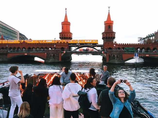 boat rage! Berlin Biennale Warschauerbrücke