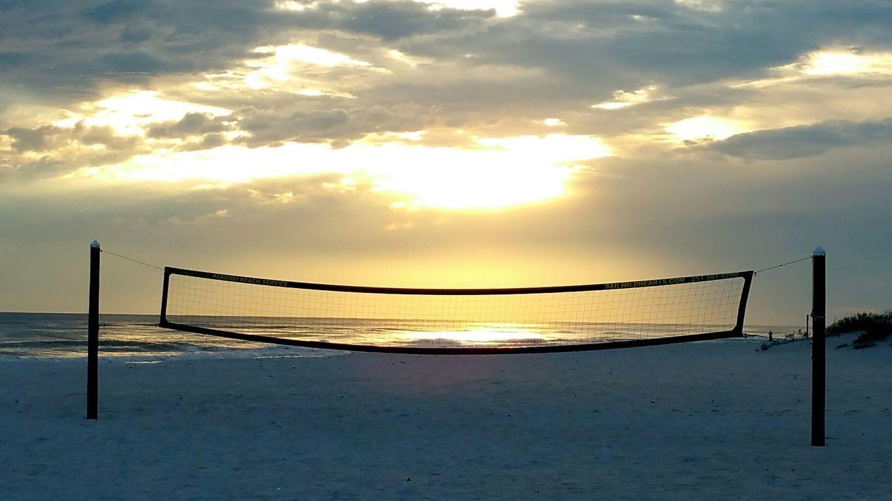 Gulf Shores OrangeBeach Alabama Florida Sunset Beachphotography Volleyball Waves Crashing Ocean Nightphotography